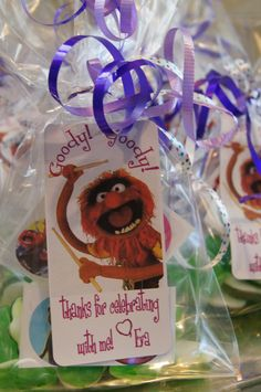 created for the muppet birthday party