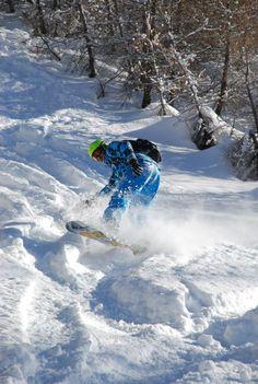 Snowboard...free ride, Sestriere 2013