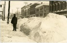 wellsville, NY photos | Winter Main Street, Wellsville, NY