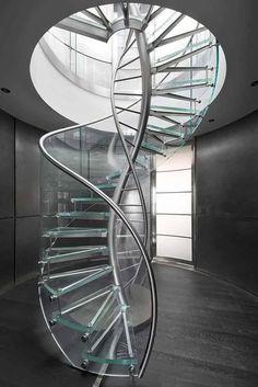 sculptural spiral staircases rosslovegrove pinterest. Black Bedroom Furniture Sets. Home Design Ideas