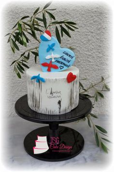 My contribution to Cakes Against Violence Collaboration - Love will always win by JSG Cake Design