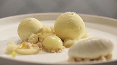 "Make Ali's ""Yellow Fruit"" dessert creation from Episode 9."