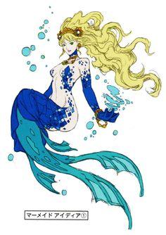 Anime Mermaid.