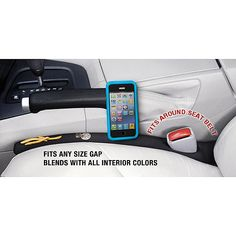 Drop Stop Automotive Car Seat Gap Filler, (As Seen on TV, Shark Tank), 1 unit: Interior Car Accessories : Walmart.com