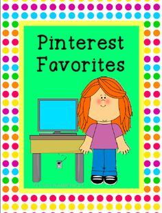 Conversations in Literacy: Pinterest Favorites:  Come join in a fun linky party and discover some great pinners to follow!