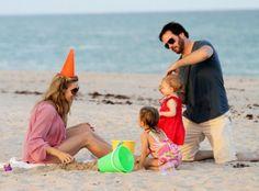 Jimmie Johnson Family Beachside Fun