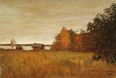 Исаак Ильич Левитан » Малоизвестные картины, пейзажи » Осенний пейзаж