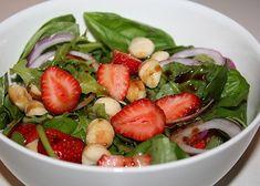 Meatless Monday: Strawberry, Basil & Macadamia Salad | Reboot With Joe