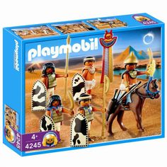 Playmobil, egyptian soldiers.  Historically accurate ;-).