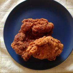 recette de délicieux poulet frit à la cajun - Le pamplemousse picoté