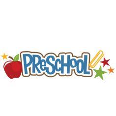 Preschool SVG scrapbook title crayon svg file free svgs school svg cut files