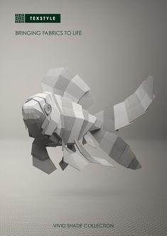 Sublimes illustrations 3D de l'artiste australien Jeremy Kool pour la marque Textstyle