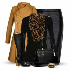 Work Outfit - Business Casual for Women, or just a casual look with jeans instead of the skirt. Mode Outfits, Fall Outfits, Casual Outfits, Fashion Outfits, Fashion Clothes, School Outfits, Summer Outfits, Classic Outfits, Style Work