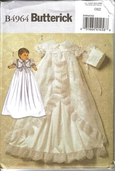 christening gown sewing patterns - Google Search