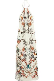 R. Cavalli   lovely vintage-esque pattern, not too revealing or ostentatious. perfect