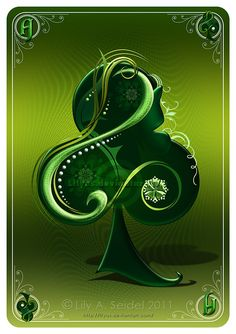 Ace of Clubs CARD by `Lilyas