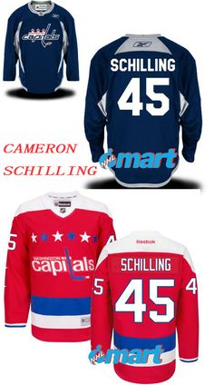 Capitals 45  jerseys  CameronSchilling  Jerseys  CameronSchillingFans   Jersey It is hard to imagine that you don t have a special trophy to  express your ... 21fa67ad5
