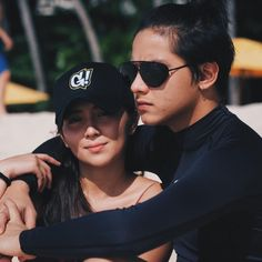 """Check out these """"kilig"""" picture of KathNiel cooking together Filipino, Couple Goals Cuddling, Daniel Padilla, Couple Photoshoot Poses, Kathryn Bernardo, Beach Poses, Romantic Photos, Couple Aesthetic, Aesthetic Eyes"""