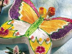 Butterfly Cut-Up Cake