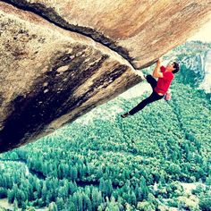 Determined - Alex Honnold soloing Separate Reality  (photo: Jimi Chin)
