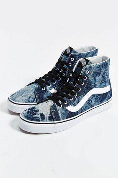 Vans Sk8 High-Top Reissue Acid Wash Men's Sneaker $70 by Vans at Urban Outfitters