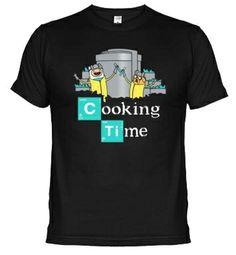 Camisetas HORA DE AVENTURAS. La tostadora, diseños de Currobot.