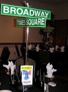 """Broadway"" Party by Vicki Feldman, via Behance"