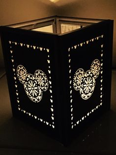 Illuminate Your Home With This Mickey Mouse Patterned Lantern