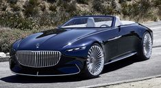 Mercedes Maybach 6 Cabriolet | Official: Vision Mercedes-Maybach 6 Cabriolet