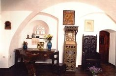 Interior Bran Castle Romania | Pictures and Postcards from Bran Castle - Romania Postcards