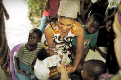 Rachel Roy has partnered with OrphanAid Africa on numerous campaigns to support the development of the organization and the children of Ghana. #RachelRoy