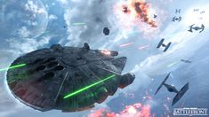 Star Wars Battlefront Hero Vehicles: Piloting Slave I and the Millennium Falcon - Star Wars - Official EA Site