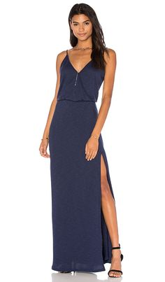 Shop for Lanston Back Bar Slit Maxi Dress in Mystic at REVOLVE. Free 2-3 day shipping and returns, 30 day price match guarantee.