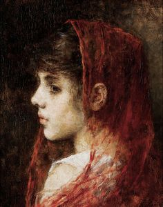 File:Alexei Harlamov - Portrait of a young girl with a red veil.jpg
