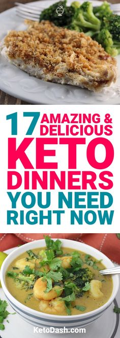Some recipes on the ketogenic diet might sound too good to be true. Here are 17 keto dinners that do just that, but I assure you, they will help you lose weight.