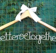 "Cabide personalizado ""Better Together"""