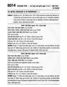 Dressy Bessy Doll Dapper Dan Rare Doll Pattern PDF DIGITAL DOWNLOAD Teaching Dolls Preschool Toys To Toddler Gifts, Toddler Toys, Dapper Dan, Preschool Toys, Paper Size, Boy Or Girl, Sewing Patterns, Teaching, Dolls