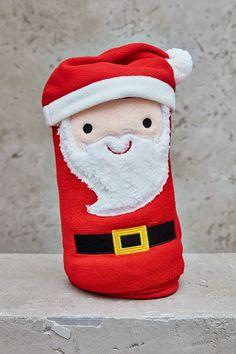 Santa Clause Plush Blanket