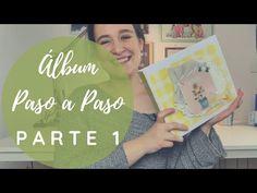Ideas Scrapbooking, Tutorial Scrapbook, Ideas Paso A Paso, Album Scrapbook, Grande, Cover, Youtube, Baby, Tela