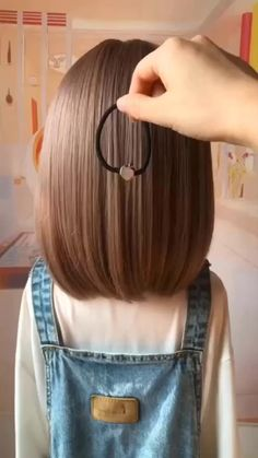 Easy Hairstyles For Long Hair, Cute Hairstyles, Hairstyles Videos, Creative Hairstyles, Kids Hairstyles For Wedding, Little Girl Short Hairstyles, Short Hair For Kids, Hairstyle For Kids, Simple Hairstyles For Long Hair