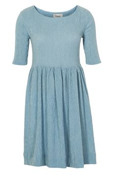 bee88e1426ed Ganni AVA - Day dress - dusty denim for Free delivery for orders over.  Emilie