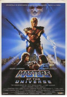 Watch Masters of the Universe full hd online Directed by Gary Goddard. With Dolph Lundgren, Frank Langella, Meg Foster, Billy Barty. The heroic warrior He-Man battles against the evil lord Sk 80s Movie Posters, 80s Movies, Cult Movies, Good Movies, Movie Tv, Creepy Movies, Greatest Movies, Comic Movies, Meg Foster