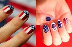 4th july nails - Google Search