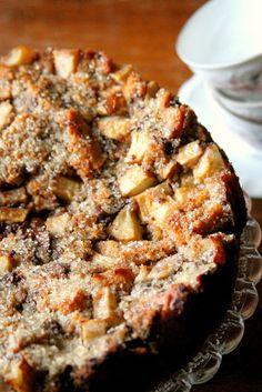 Profumi in cucina: Torta di pane, pere e cioccolato