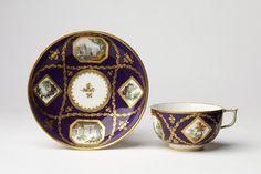 Soucoupe   Sèvres porcelain factory   V Search the Collections