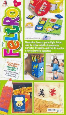 Coleccion Fieltro Revistas de manualidades en fieltro