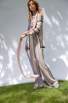 Missoni Resort 2017 Fashion Show #stripes