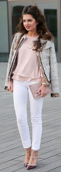 Grey Tweed Jacket by Fashion Hippie Loves