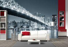 Fototapete New York at night 3 - Metropole für Zuhause | wall-art.de