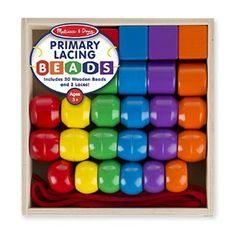 #Christmas Shop online Melissa & Doug Primary Lacing Beads for Christmas Gifts Idea Online . Choosing  Christmas Toys pertaining to young children may seem uncomplicated, any time preferred after due thought, Christmas Toys typically offer an opportunity for just a baby to master something, h...